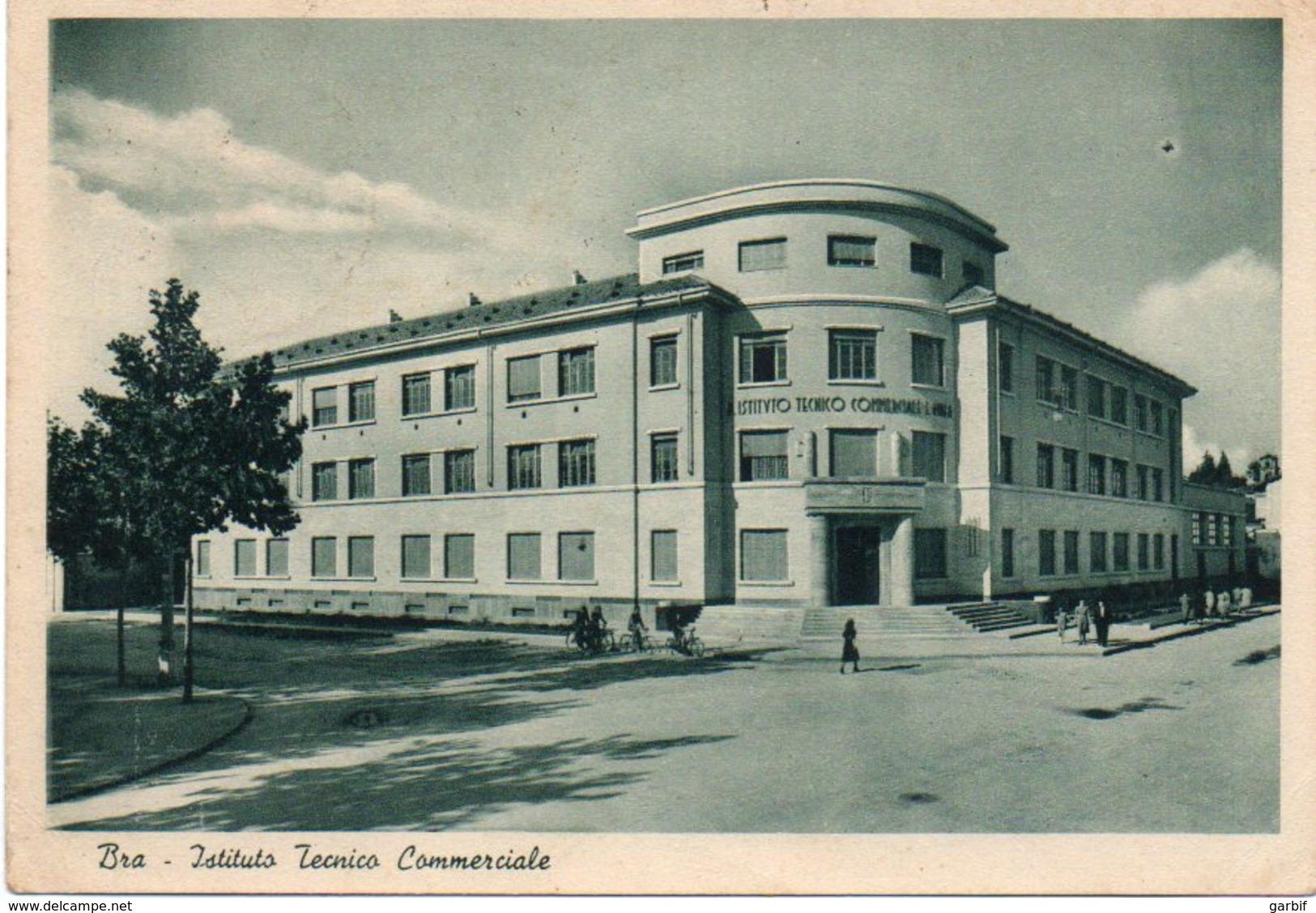 Cuneo - Bra - Istituto Tecnico Commerciale - Fg Vg1940 - Cuneo