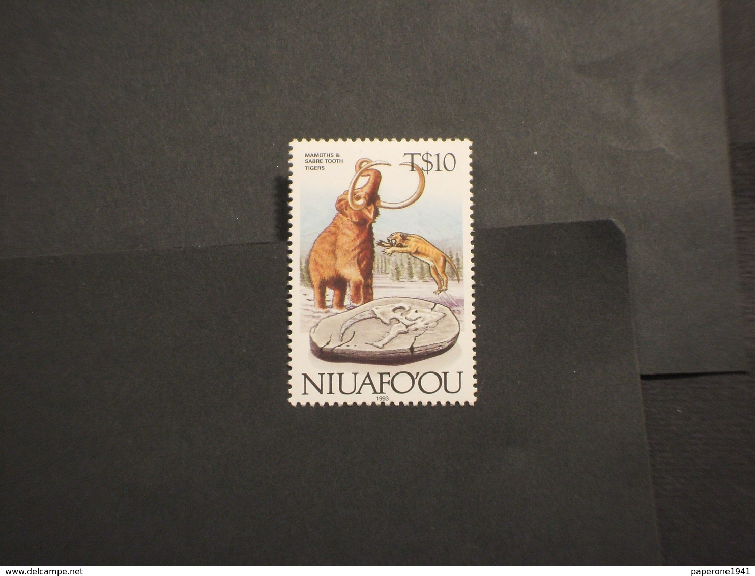 TONGA/NIUAFOOU - 1995 FAUNA - NUOVO(++) - Tonga (1970-...)