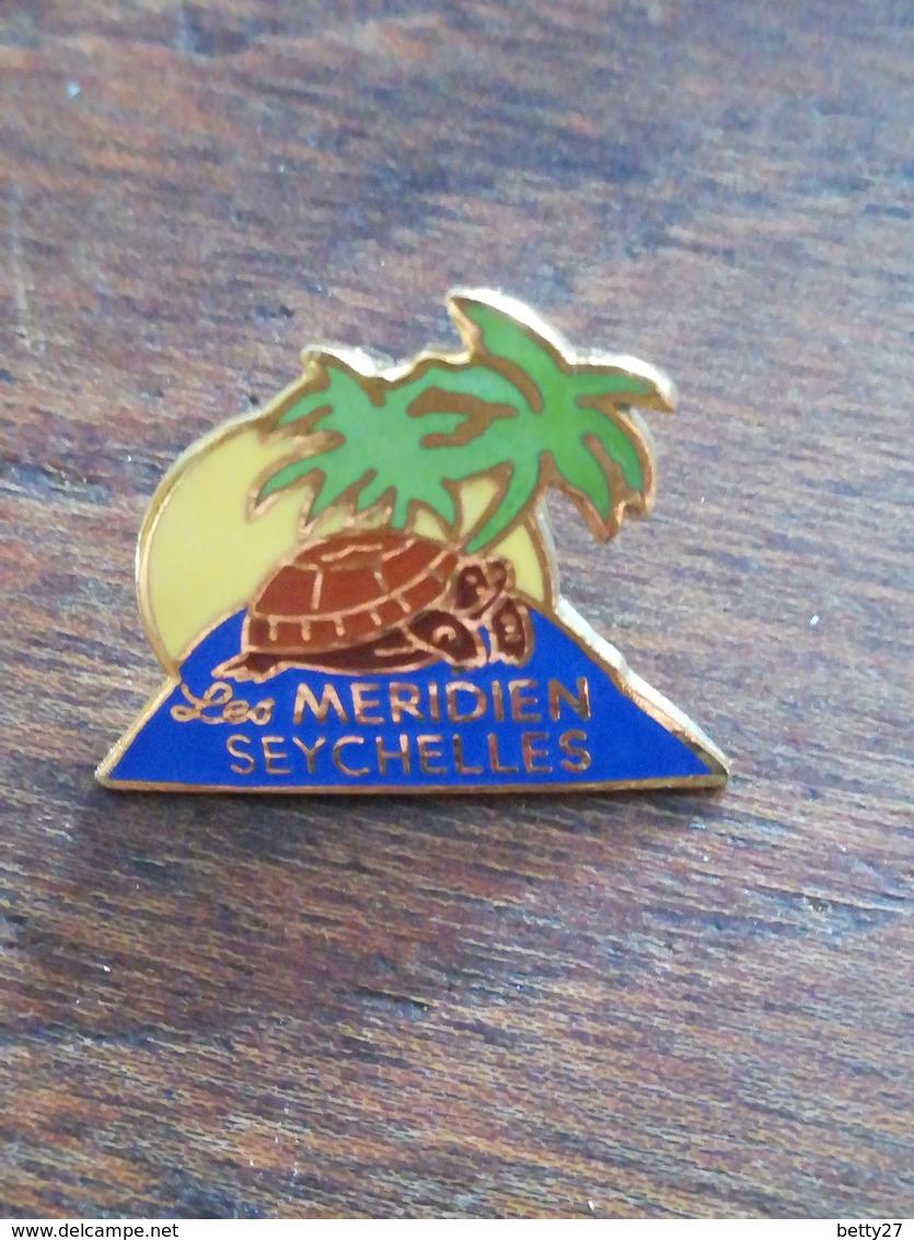 Pin' S  Le Méridien SEYCHELLES Tortue île Palmier 60 - Ohne Zuordnung