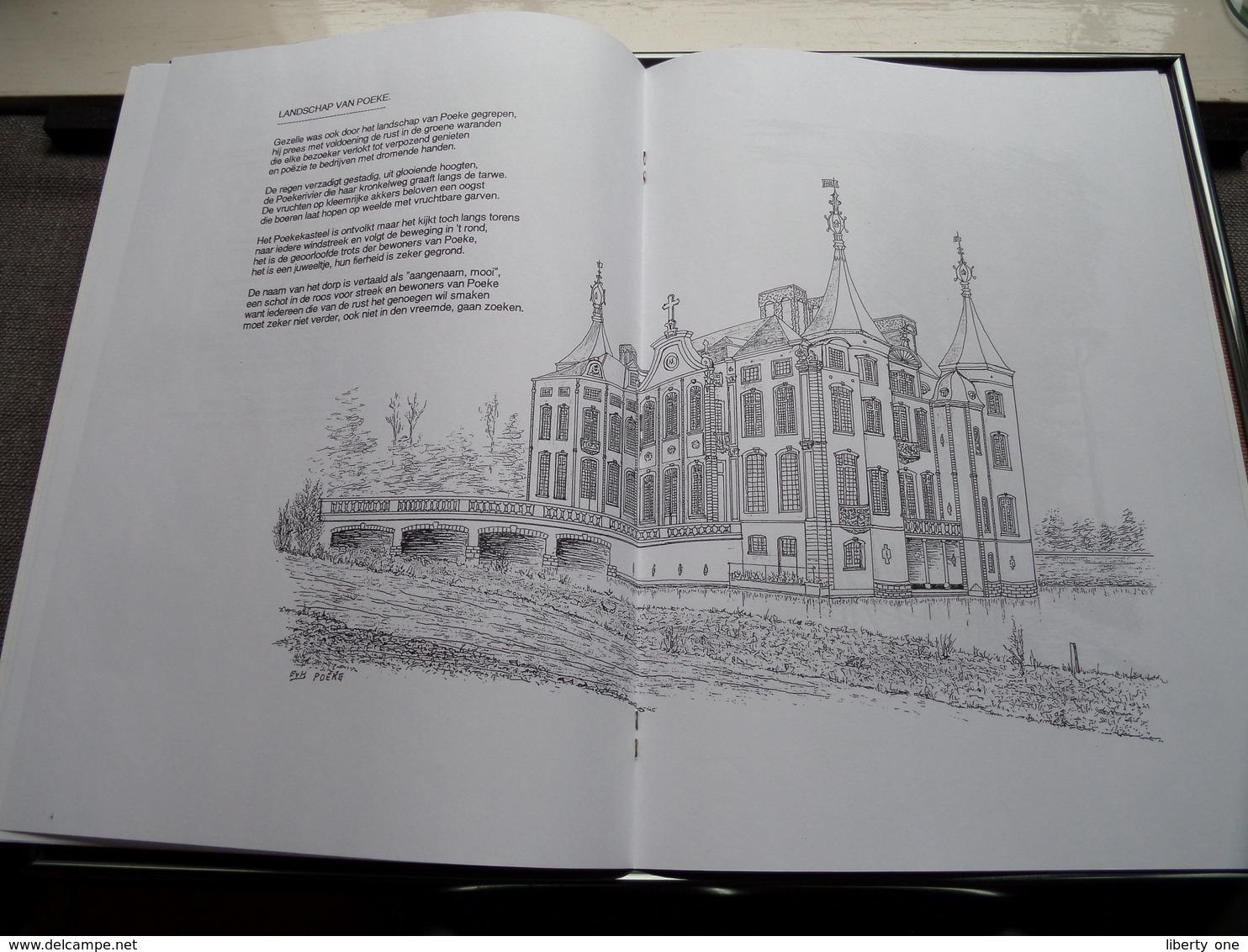 't GULDEN MEETJESLAND - Gedichten En Tekeningen Van ERNEST VAN HERCK ( Druk 2de Brochure Van Herck ERTVELDE ) ! - Poetry