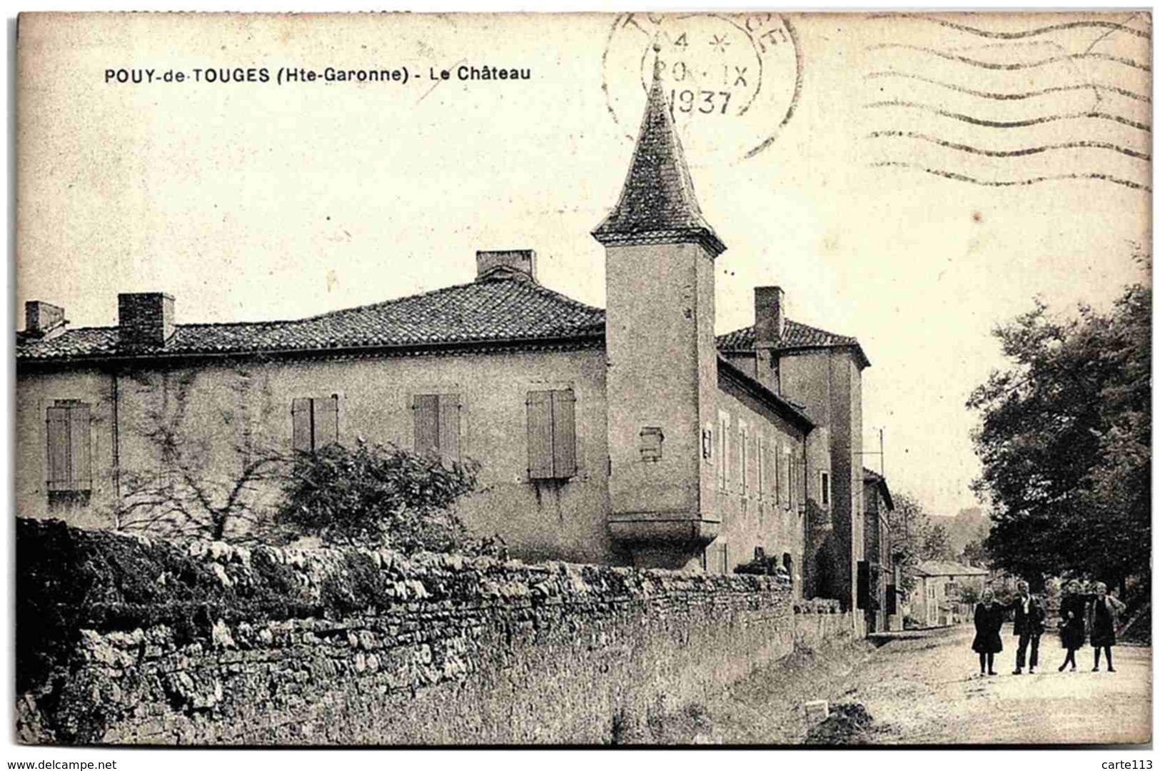 31 - B25490CPA - POUY DE TOUGES - Le Château - Très Bon état - HAUTE-GARONNE - Non Classés