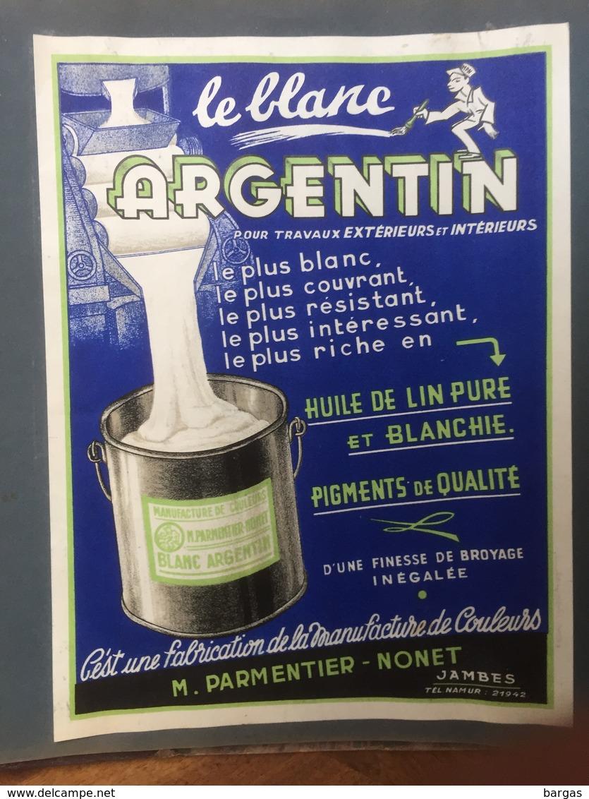 Curiosa Insolite Gros Album D'étiquettes De Pot Pour Peinture Cire Droguerie - Other