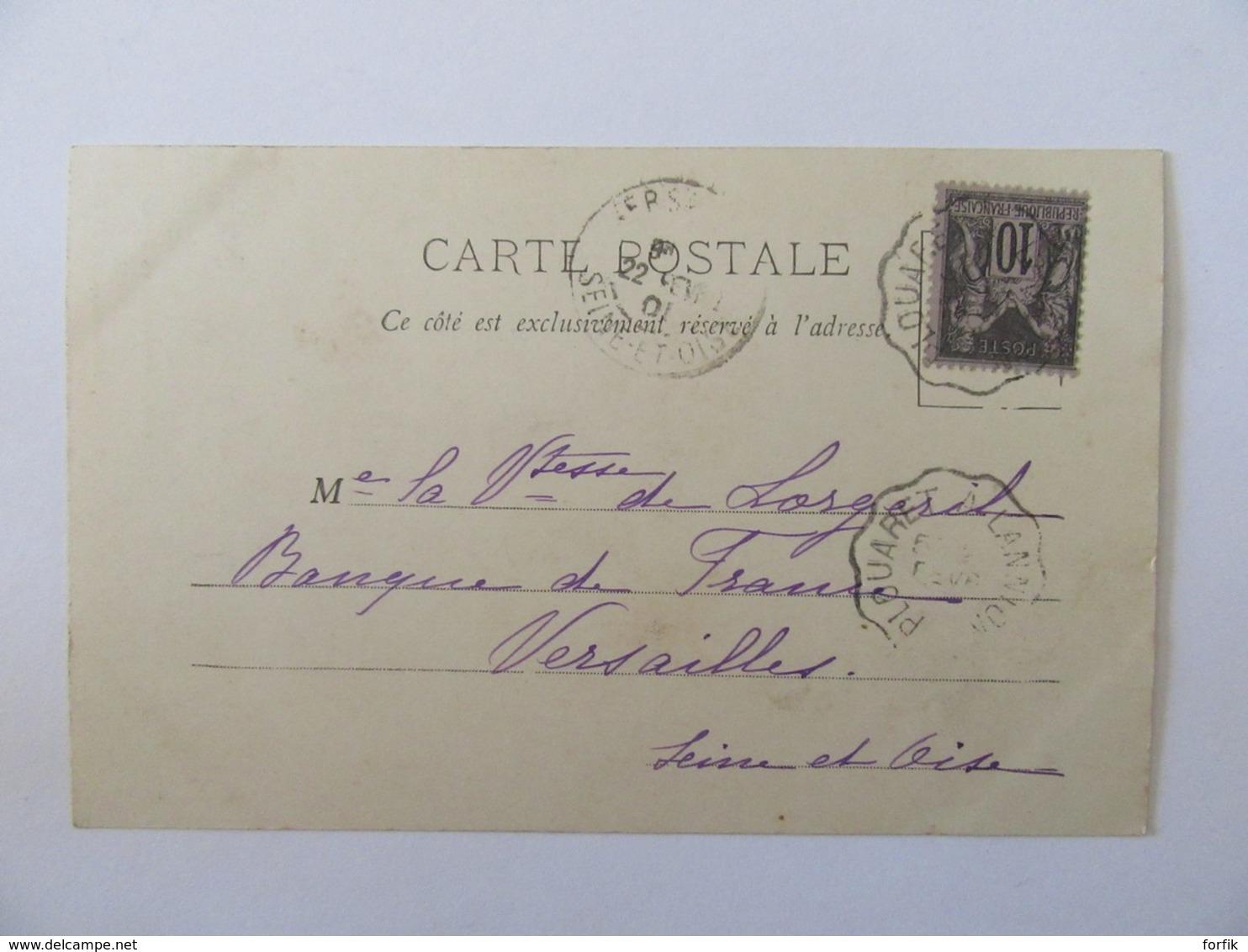 Artisanat - N°299 - Sabotière En Forêt - Carte Précurseur Animée, Circulée En 1901 - Artisanat