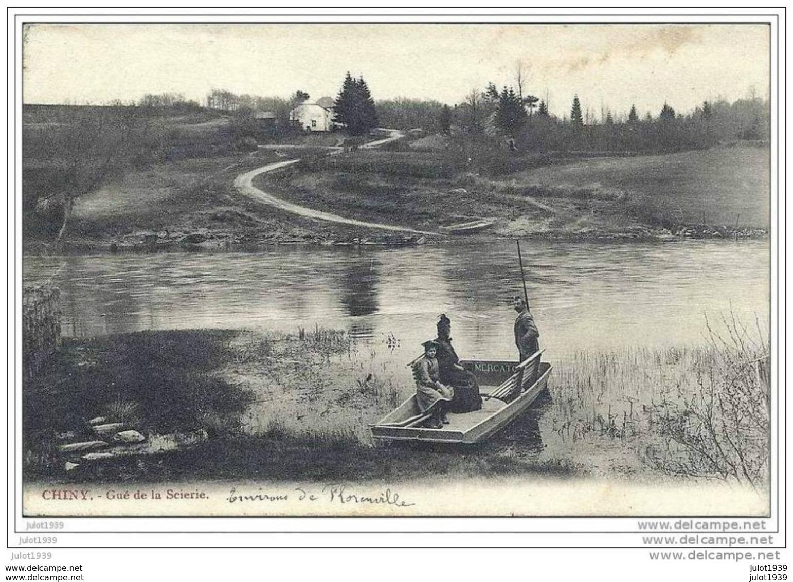 CHINY ..-- Gué De La Scierie . 1909 De CARIGNAN Vers SELONCOURT ( Melle Eveline BAUDROIT ) . Voir Verso . - Chiny