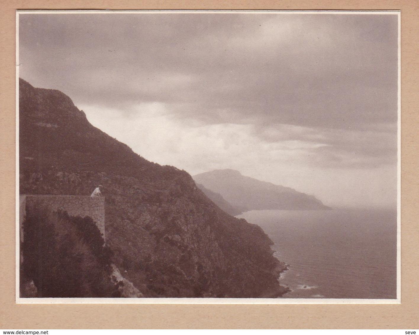 MAJORQUE  MIRAMAR 1930 Photo Amateur Format Environ 6,5 Cm X 5,5 Cm - Lieux