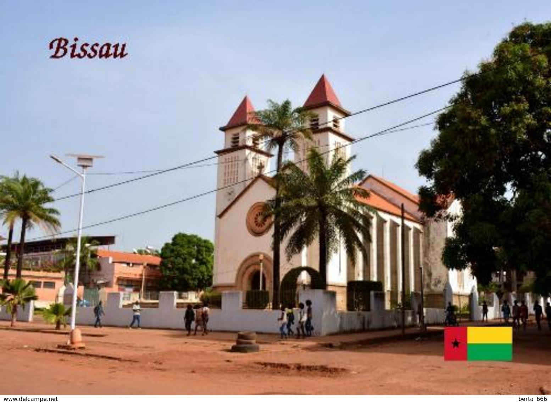 Guinea-Bissau Bissau Cathedral New Postcard - Guinea-Bissau