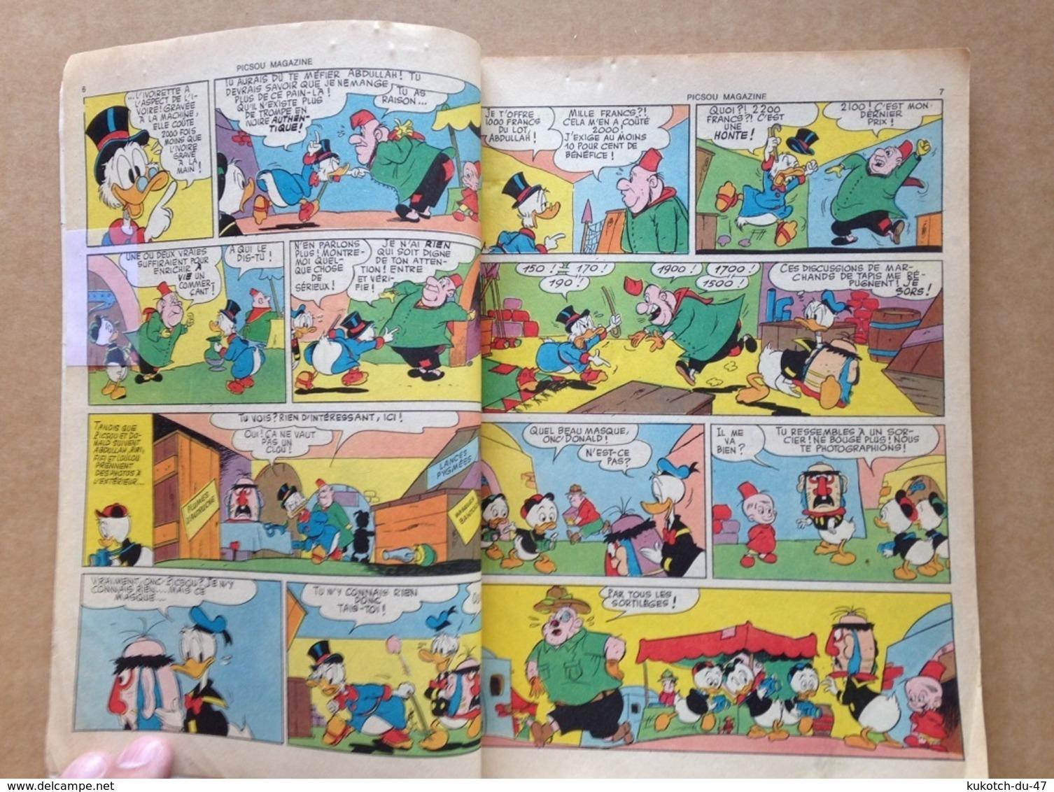 Disney - Picsou Magazine - Année 1975 - N°38 - Picsou Magazine