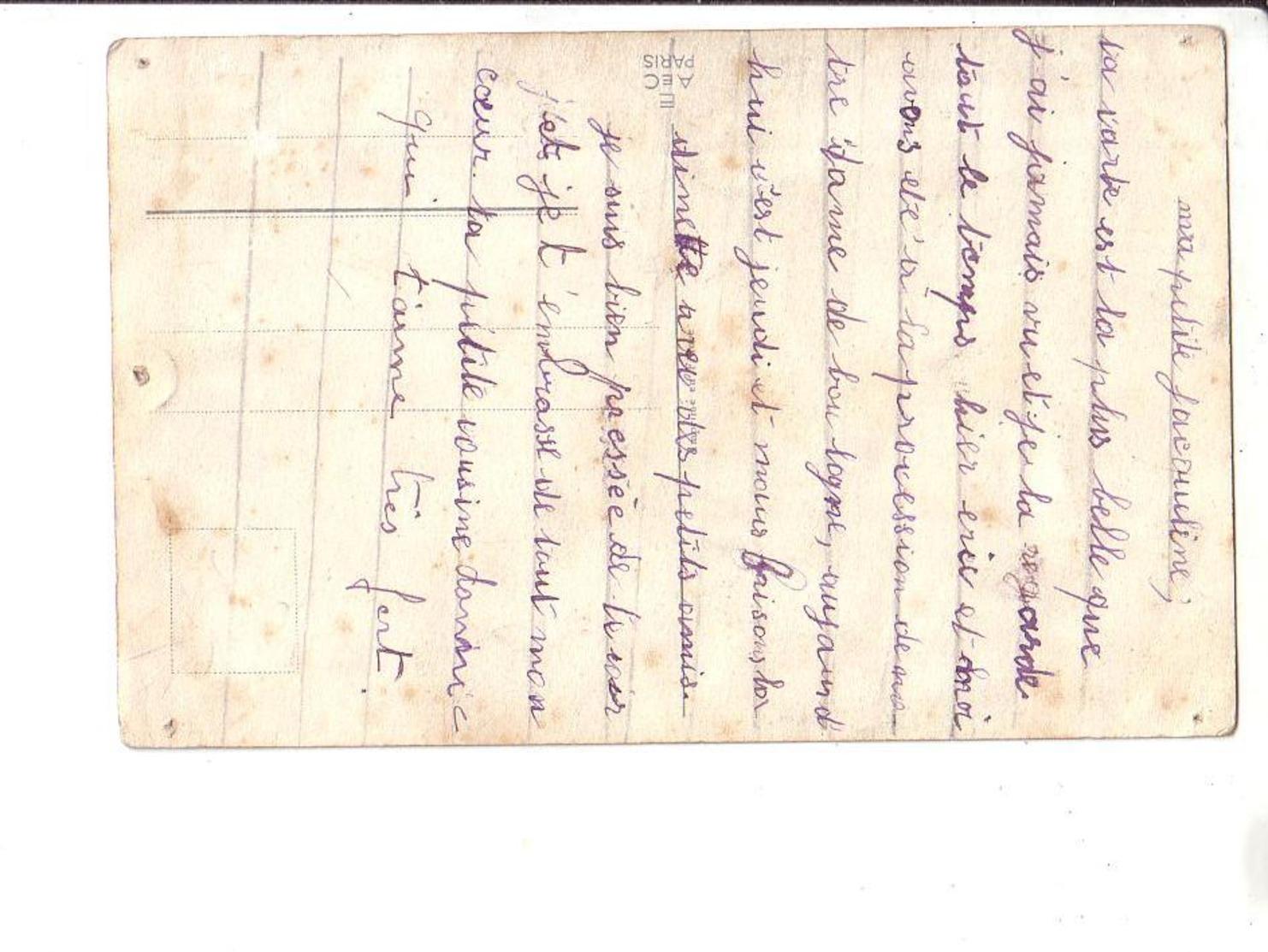 Germaine BOURET : Lot De 3  Cartes Anciennes : Voir Scan Recto Verso - Bouret, Germaine