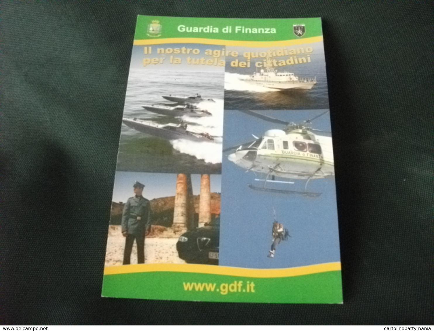 ELICOTTERO   ELICOPTERS  GUARDIA DI FINANZA  MOTOSCAFO BARCA MOTOSCAFO DIVISA - Elicotteri