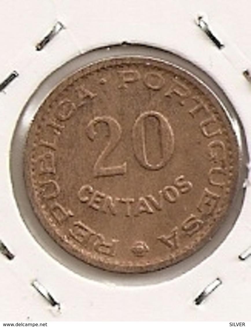 TIMOR 20 CENTAVOS 1970 - Timor