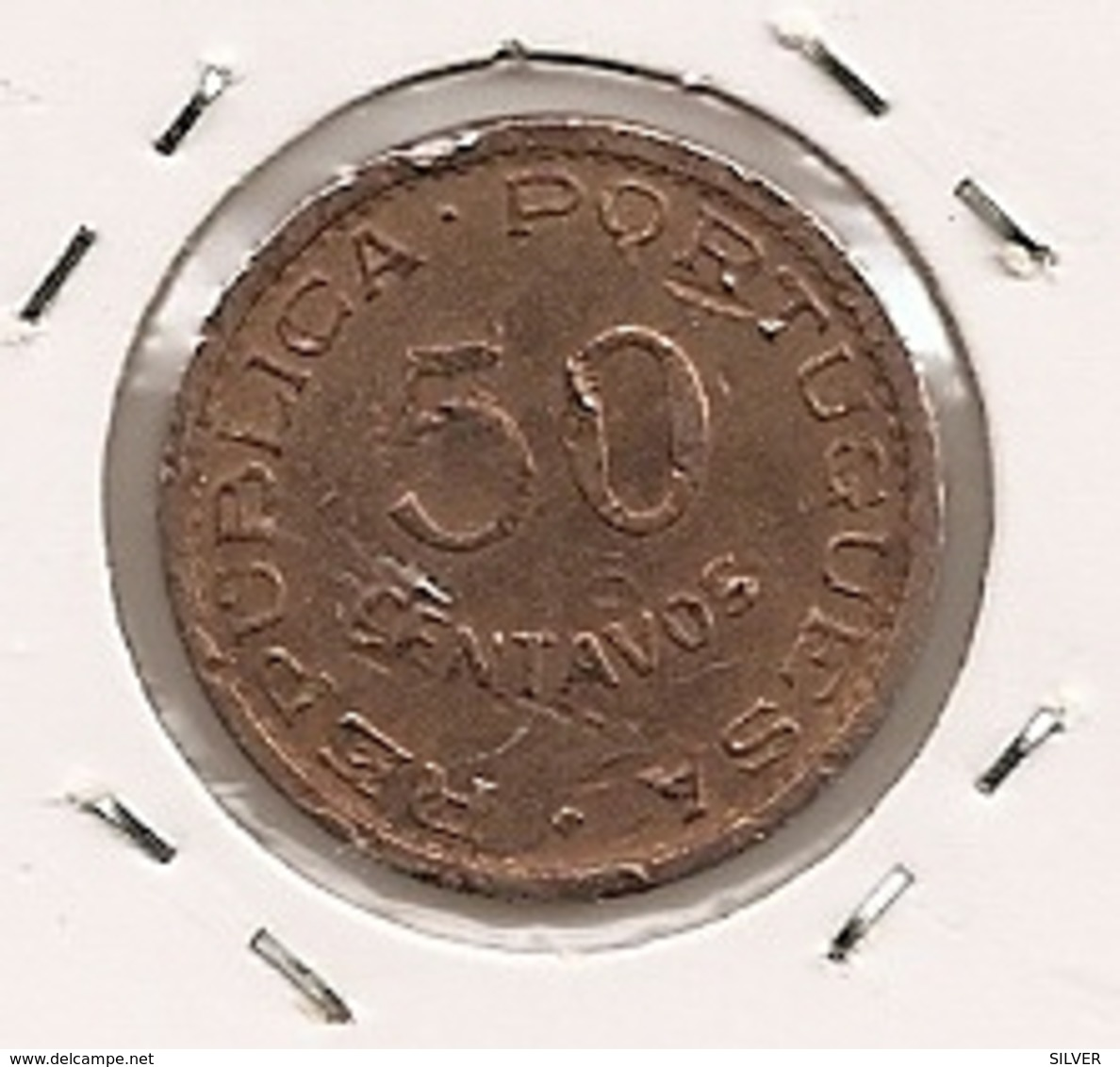 TIMOR 50 CENTAVOS 1970 - Timor