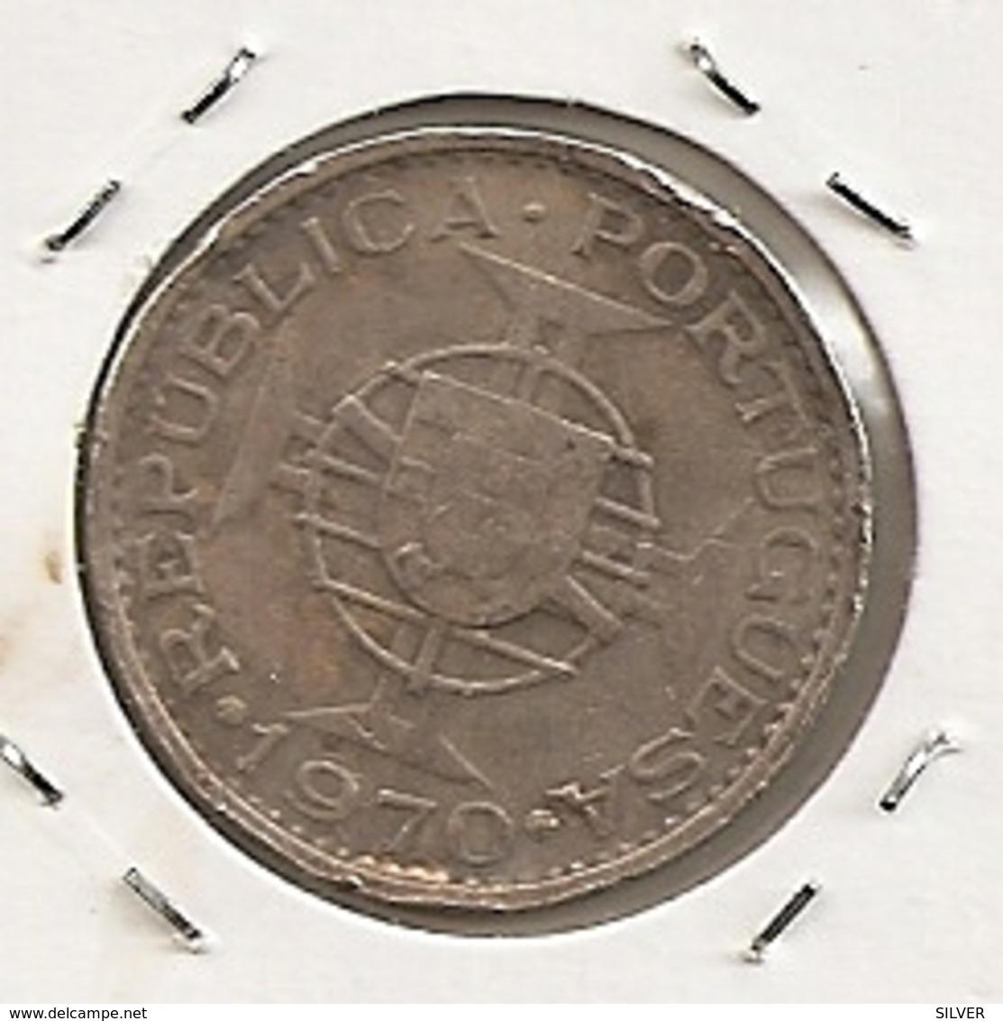 TIMOR 5 ESCUDOS 1970 - Timor