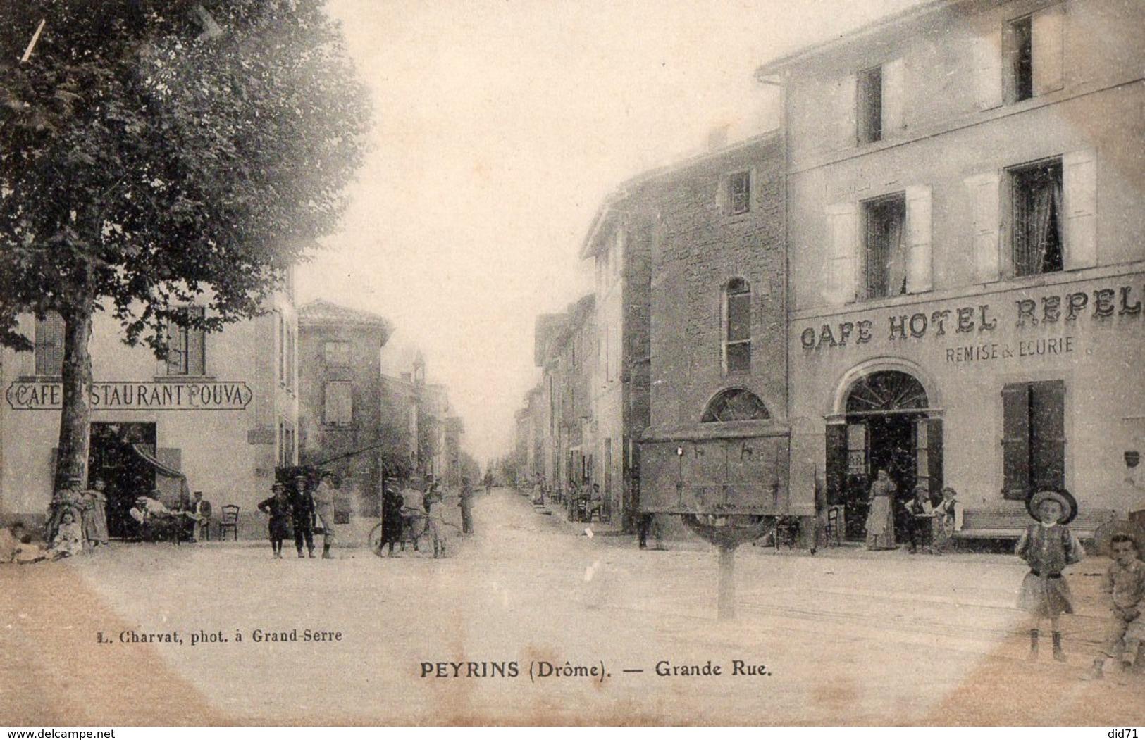 PEYRINS  - Grande Rue - - Autres Communes