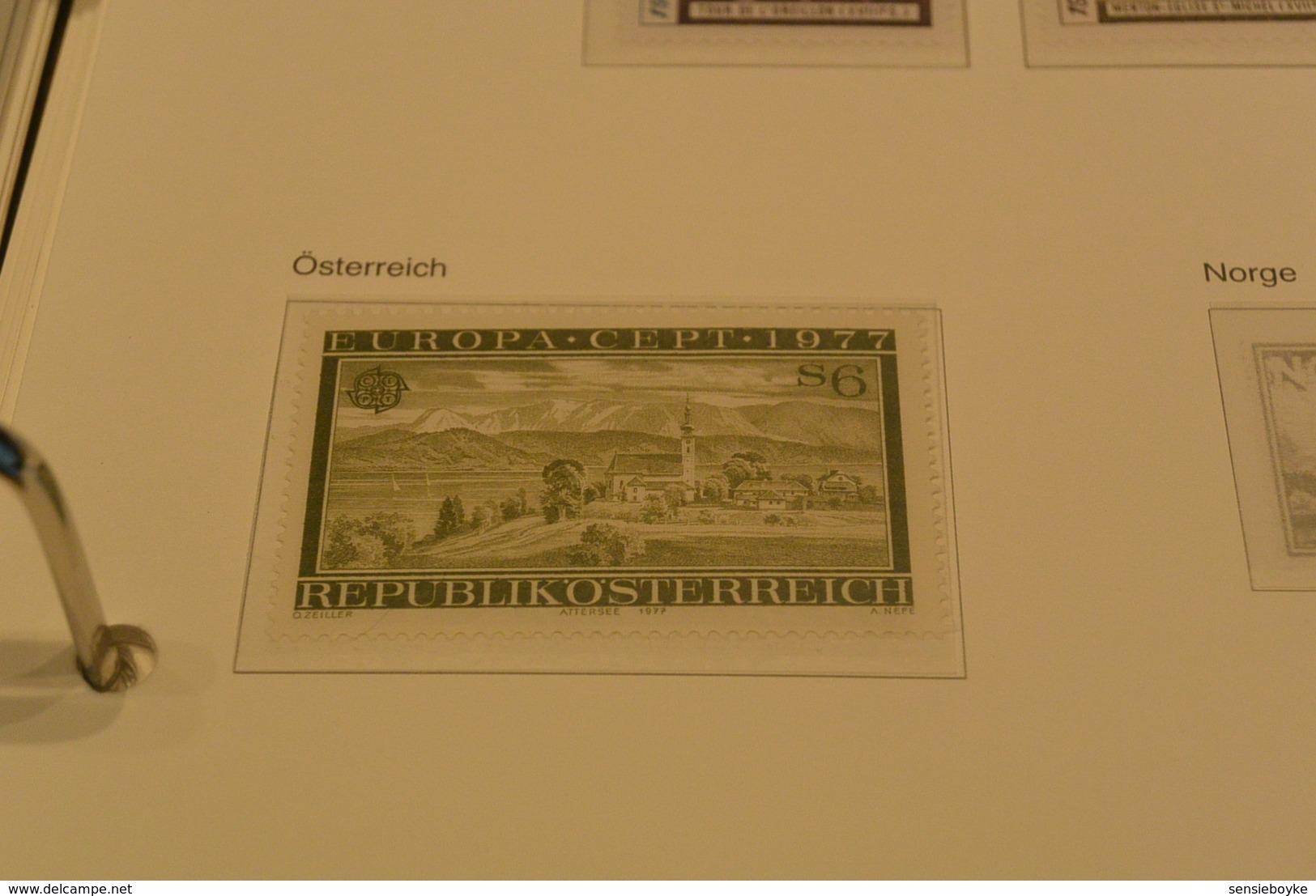 K22237 - Sets And Stamp  MNH Sweden-San Marino - Austria 1977  - CEPT - Europa - - Europa-CEPT