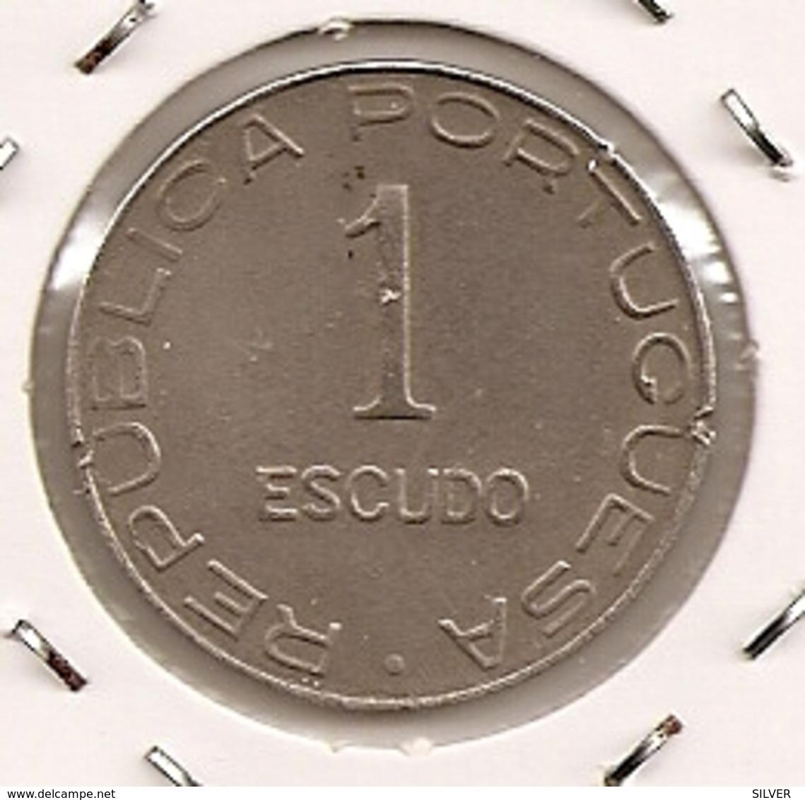 MOCAMBIQUE PORTUGUES Mozambique 1$ ESCUDO 1936 - Mozambique
