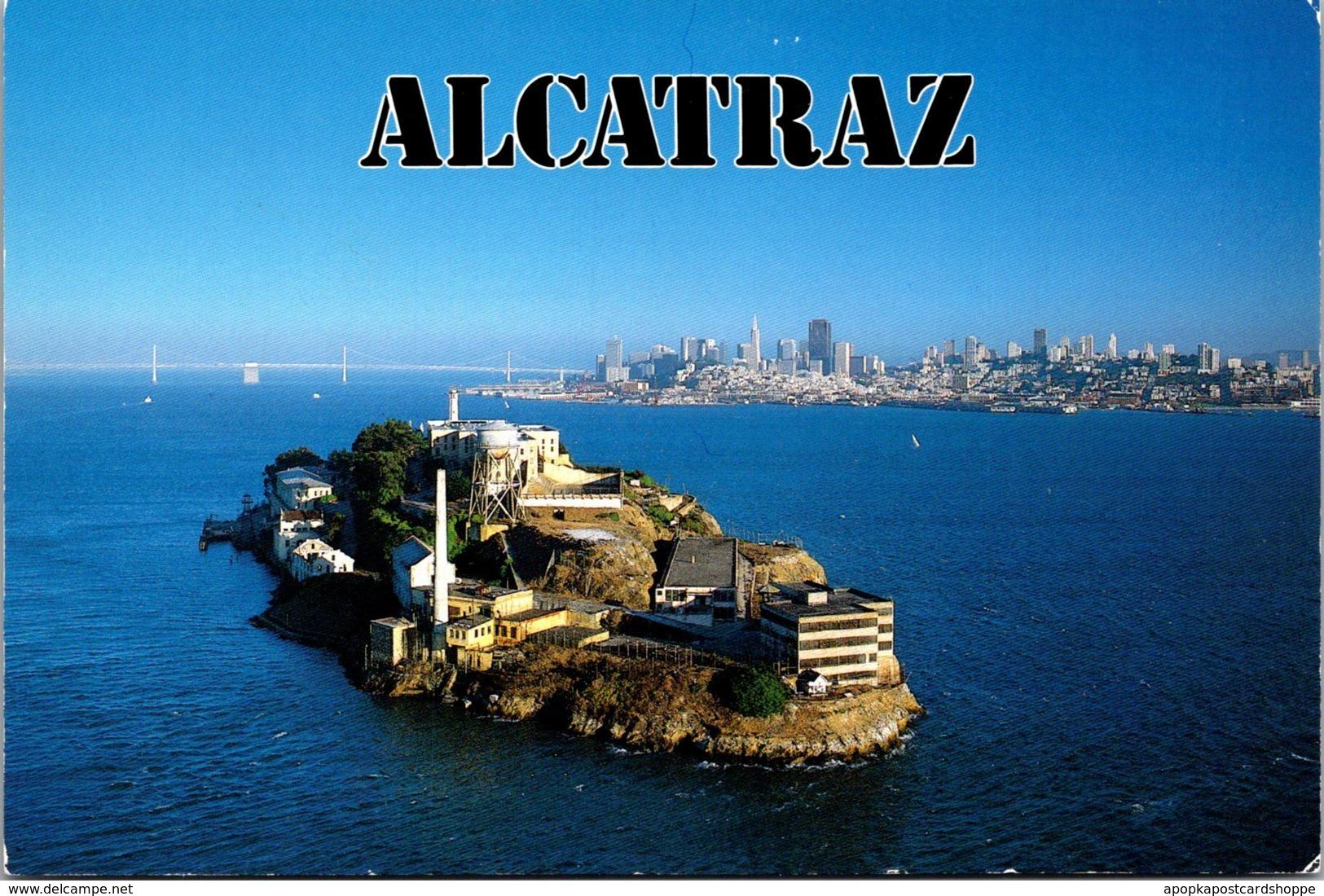 Alcatraz Island San Francisco Bay - Prison