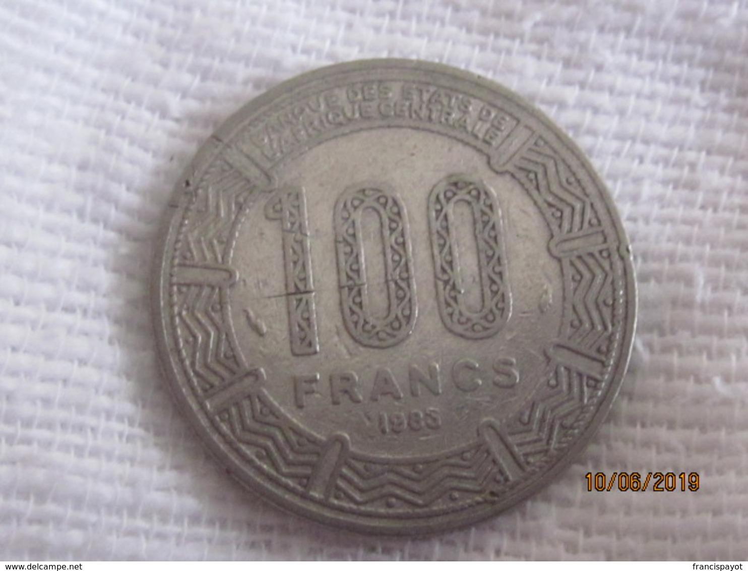 Congo-Brazzaville: 100 Francs 1983 - Congo (Repubblica 1960)