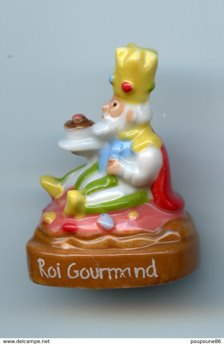 FEVE  - FEVES -   ROI GOURMAND - SOCLE MARRON - SERIE ? - Charms