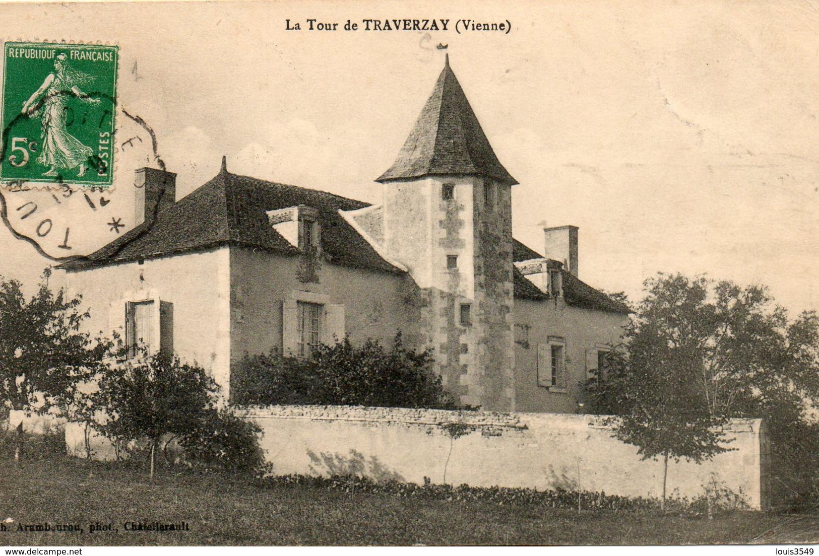 La  Tour De  Traverzay - - Autres Communes