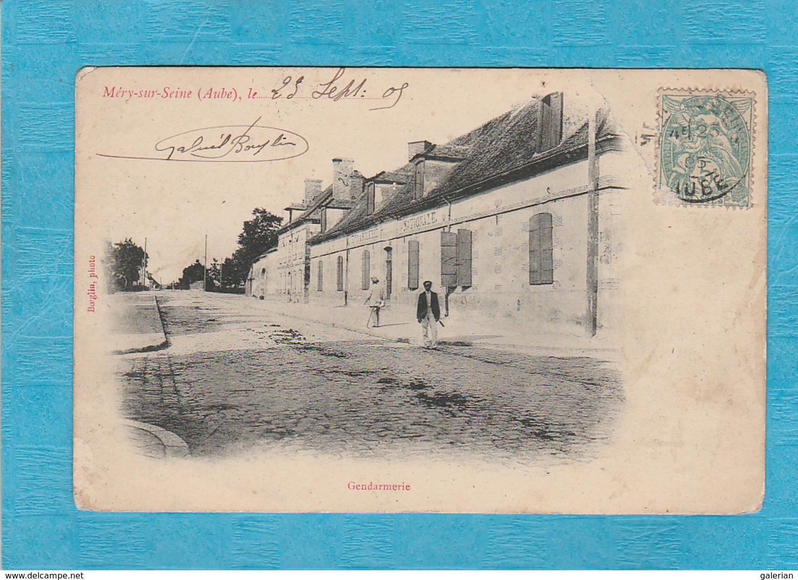 Méry-sur-Seine. - Gendarmerie. - Francia