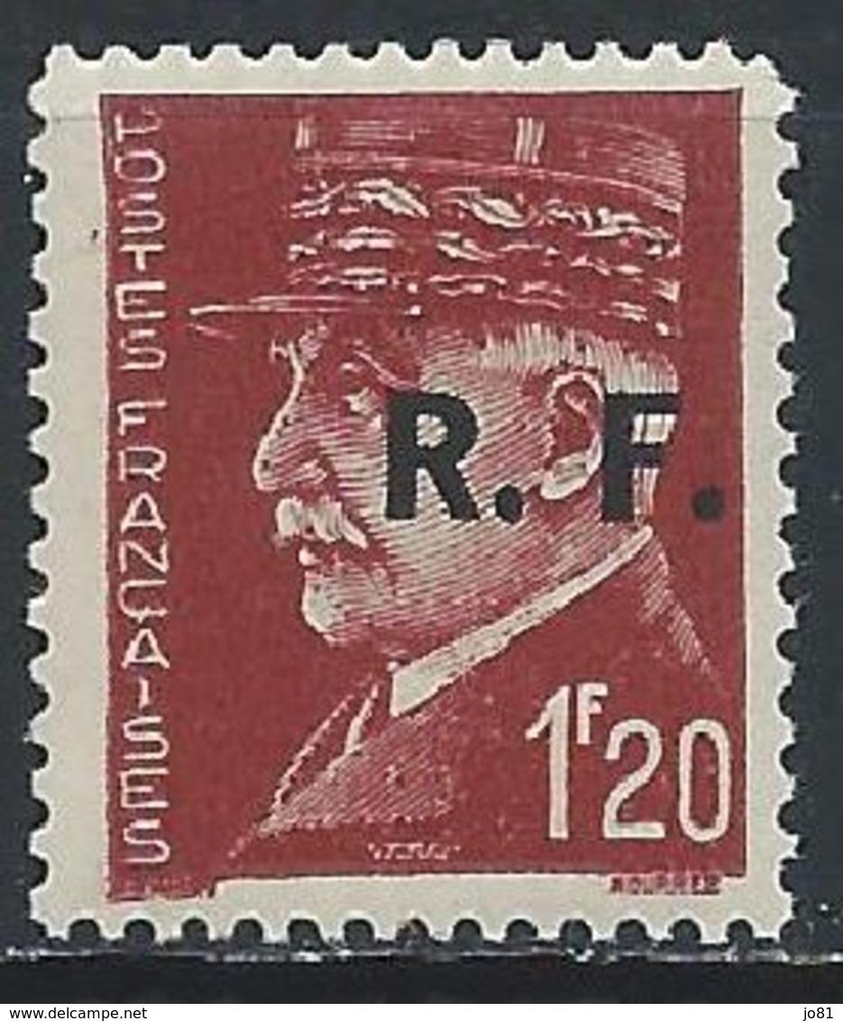 France Libération Bordeaux Mayer 5 Type 3 XX / MNH - Liberation