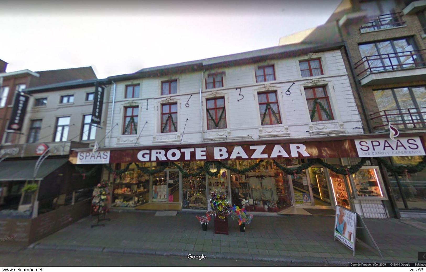 SCHERPENHEUVEL Spijs En Koffiehuis SAINT-PIERRE Café Restaurant ALBERTUSPLAATS 17 - Bieren VAN TILT - Montaigu Zichem - Scherpenheuvel-Zichem