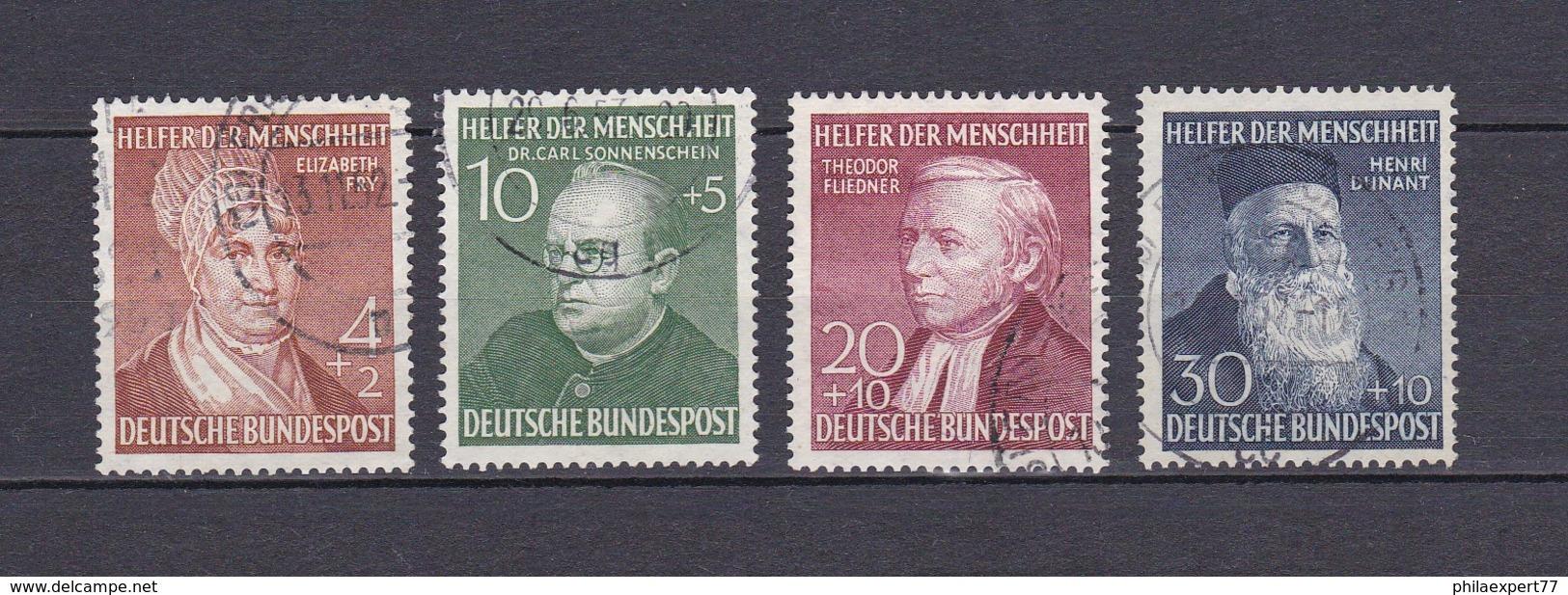BRD - 1952 - Michel Nr. 156/159 - Gest.- 100 Euro - BRD