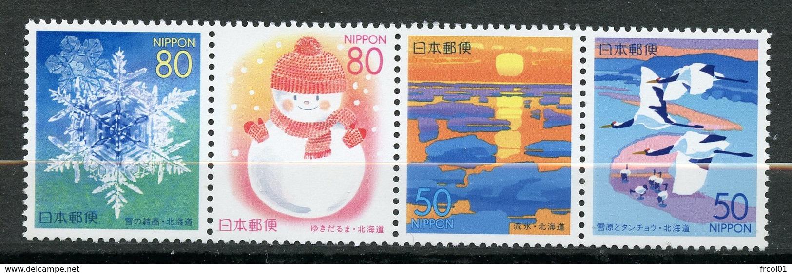 Japan, Yvert 2505/2508, MNH - 1989-... Emperor Akihito (Heisei Era)
