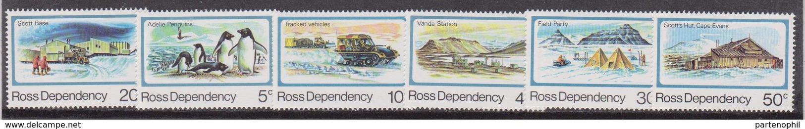 Ross Dependency - New Zealand - 1982 : Ordinaria 6 Val. - MNH ** - Nuovi