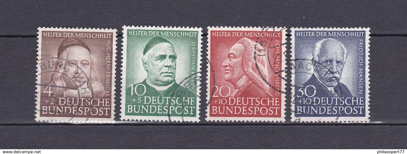 BRD - 1953 - Michel Nr. 173/176 - Gest. - 100 Euro - BRD