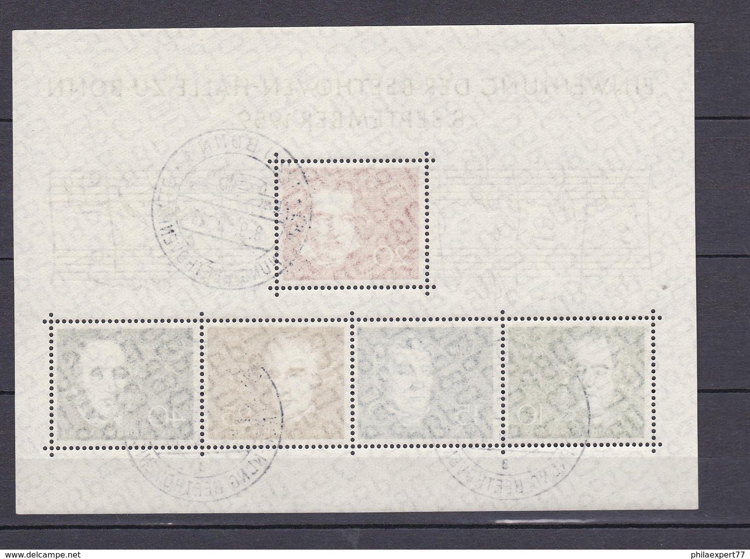 BRD - 1959 - Michel Nr. Block 2 - Gest. - 80 Euro - Gebraucht