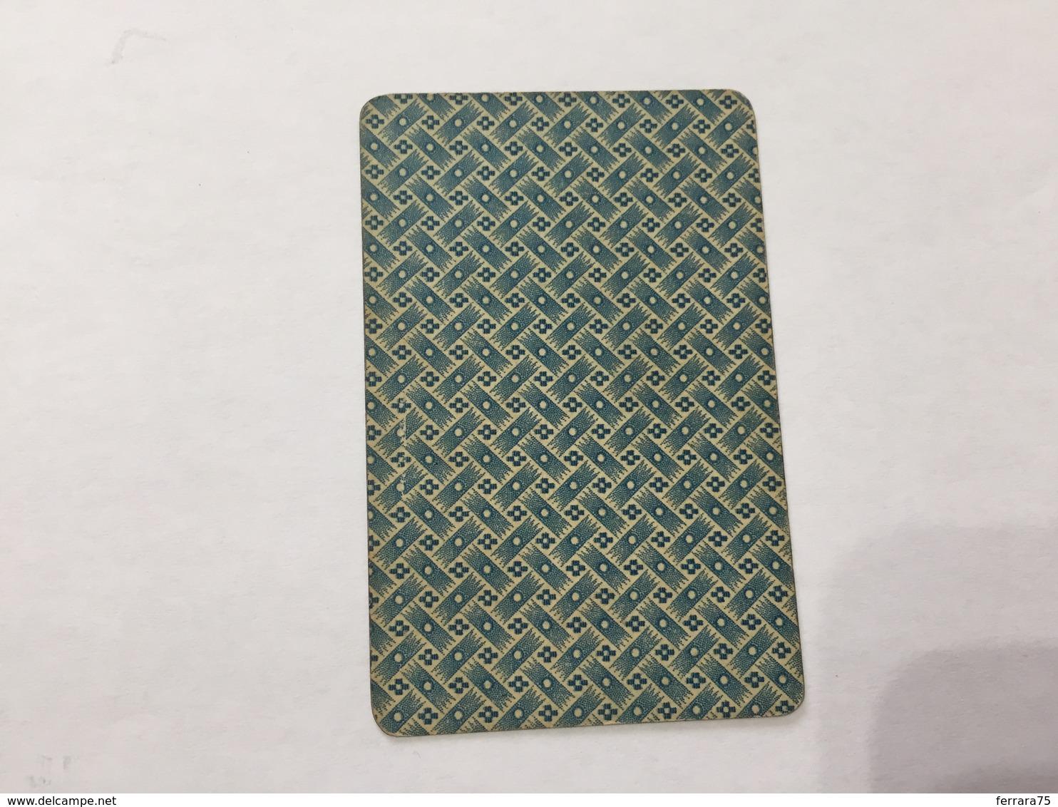CARTA DA GIOCO POKER FRATELLI ARMANINO REGINA DI CUORI 1886 GENOVA - Altre Collezioni