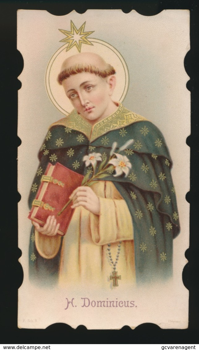 HEILIG PRENTJE - IMAGE PIEUSE - 12 X 6.5 CM --   SINT DOMINICUS - Images Religieuses