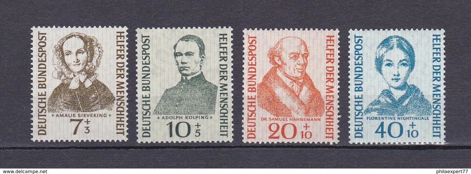 BRD - 1955 - Michel Nr. 222/225 - Postfrisch - 40 Euro - BRD
