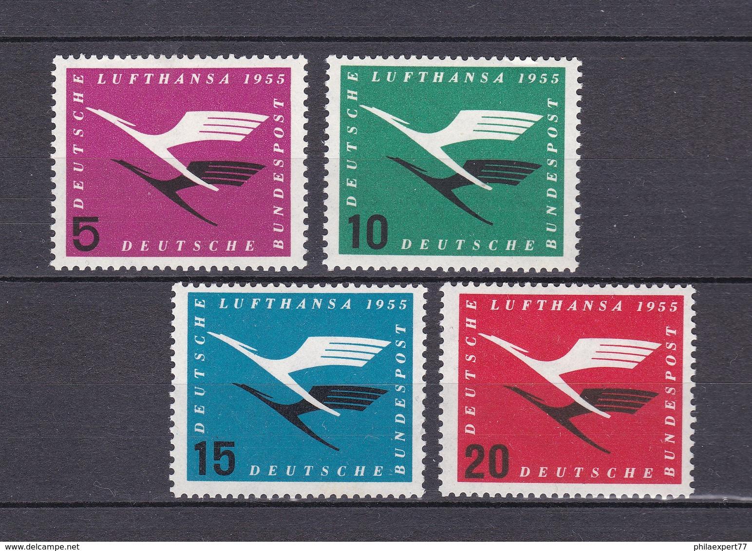 BRD - 1955 - Michel Nr. 205/208 - Postfrisch - 30 Euro - BRD