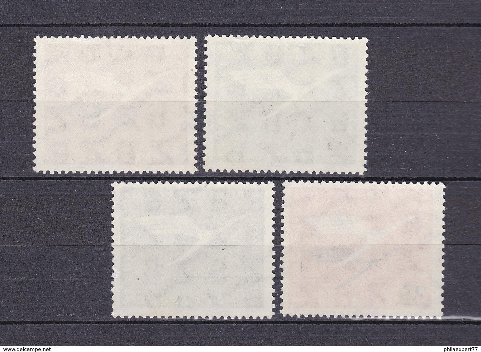 BRD - 1955 - Michel Nr. 205/208 - Postfrisch - 30 Euro - Ungebraucht