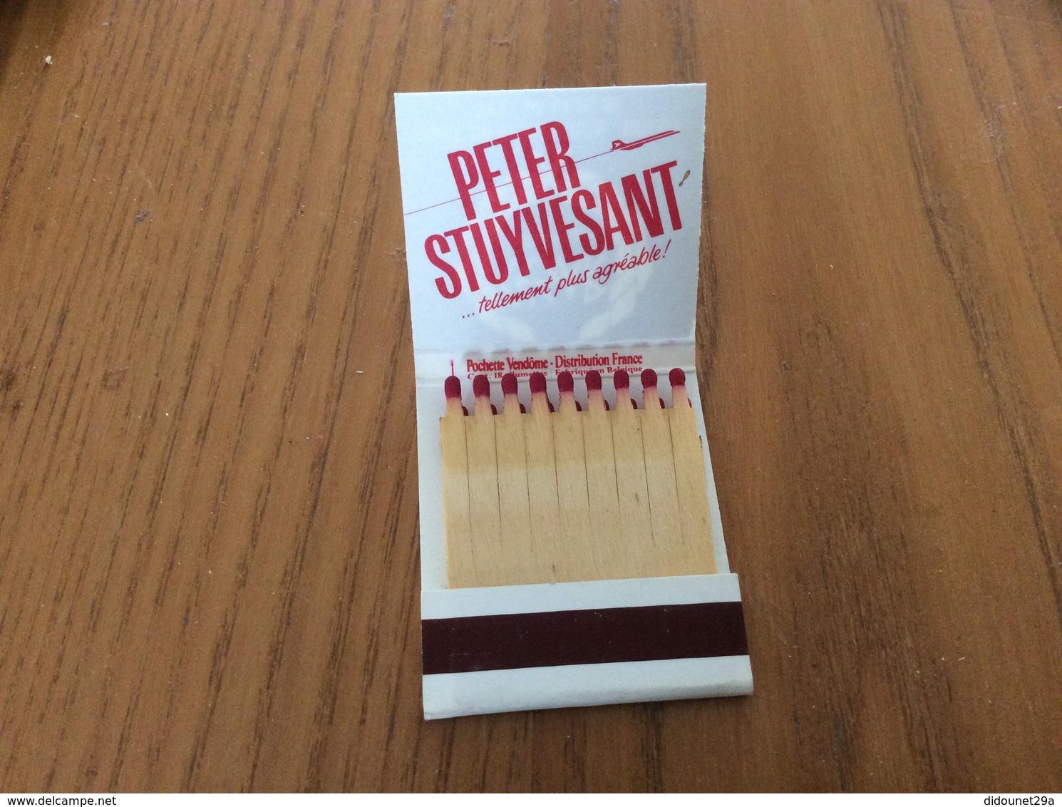 """Pochette D'allumettes * Vendôme """"PETER STUYVESANT"""" PUB CESAR (Discothèque) 29200 BREST - Boites D'allumettes"""