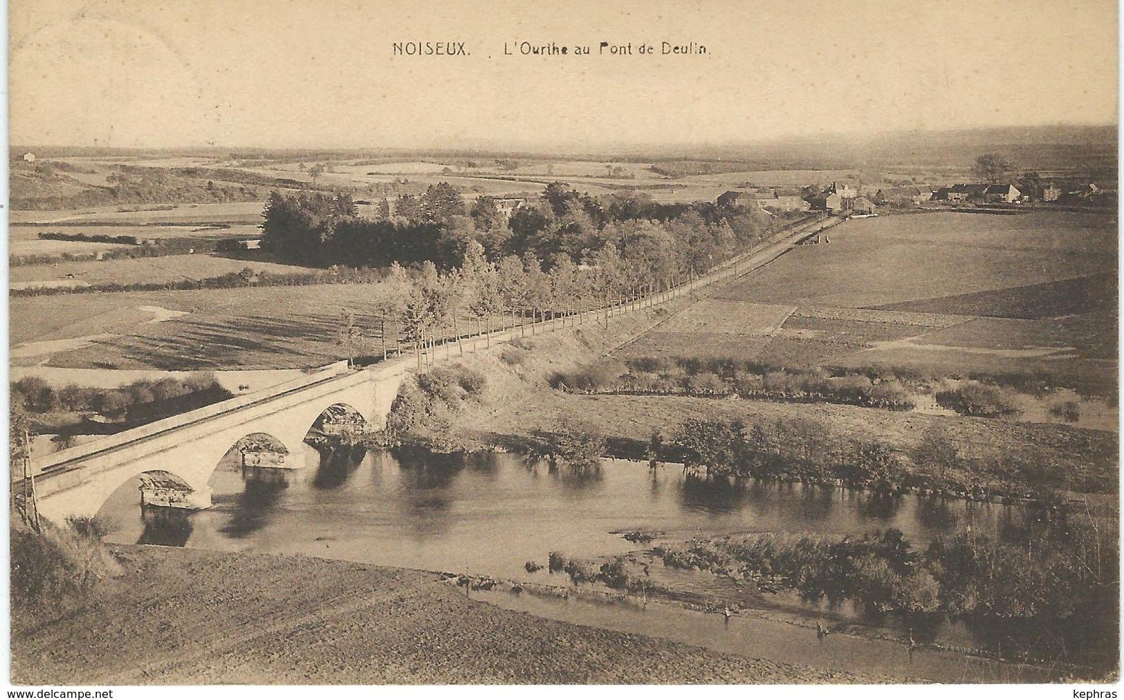 NOISEUX : L'Ourthe Au Pont De Deulin - Somme-Leuze