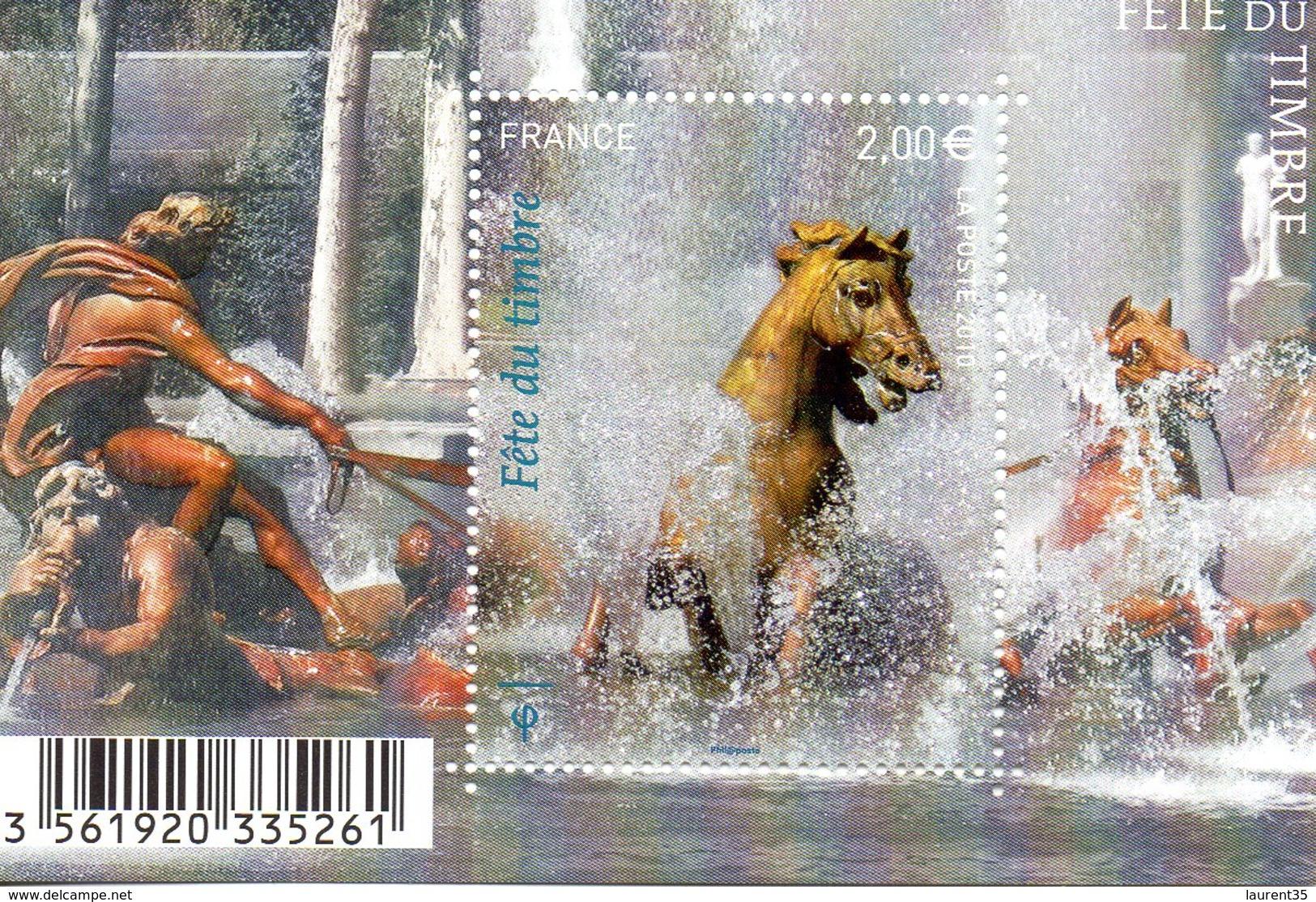 France.bloc Et Feuillet F4440 De 2010.fete Du Timbre.n**. - Mint/Hinged