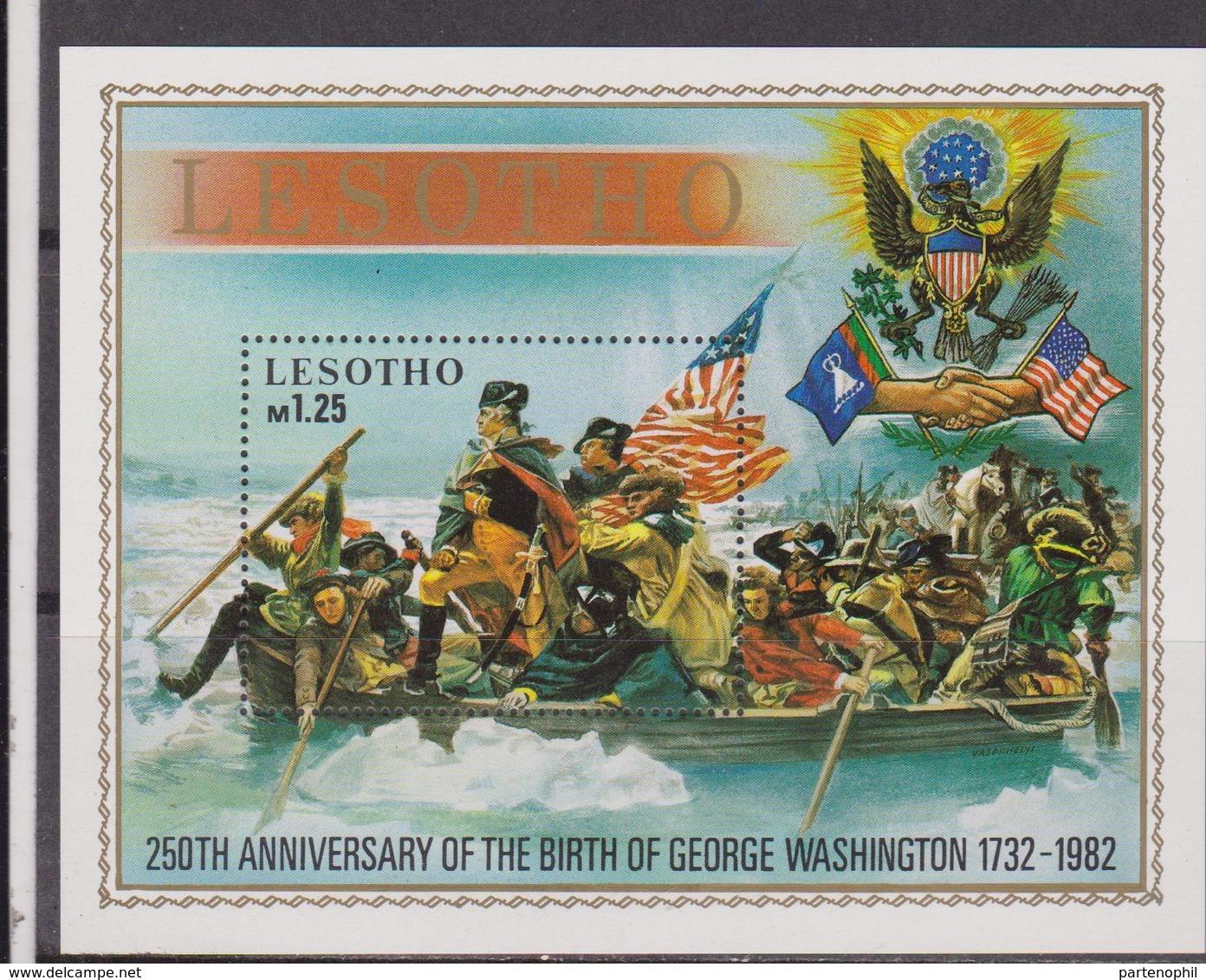 Lesotho 1982 George Washington Set MNH - George Washington