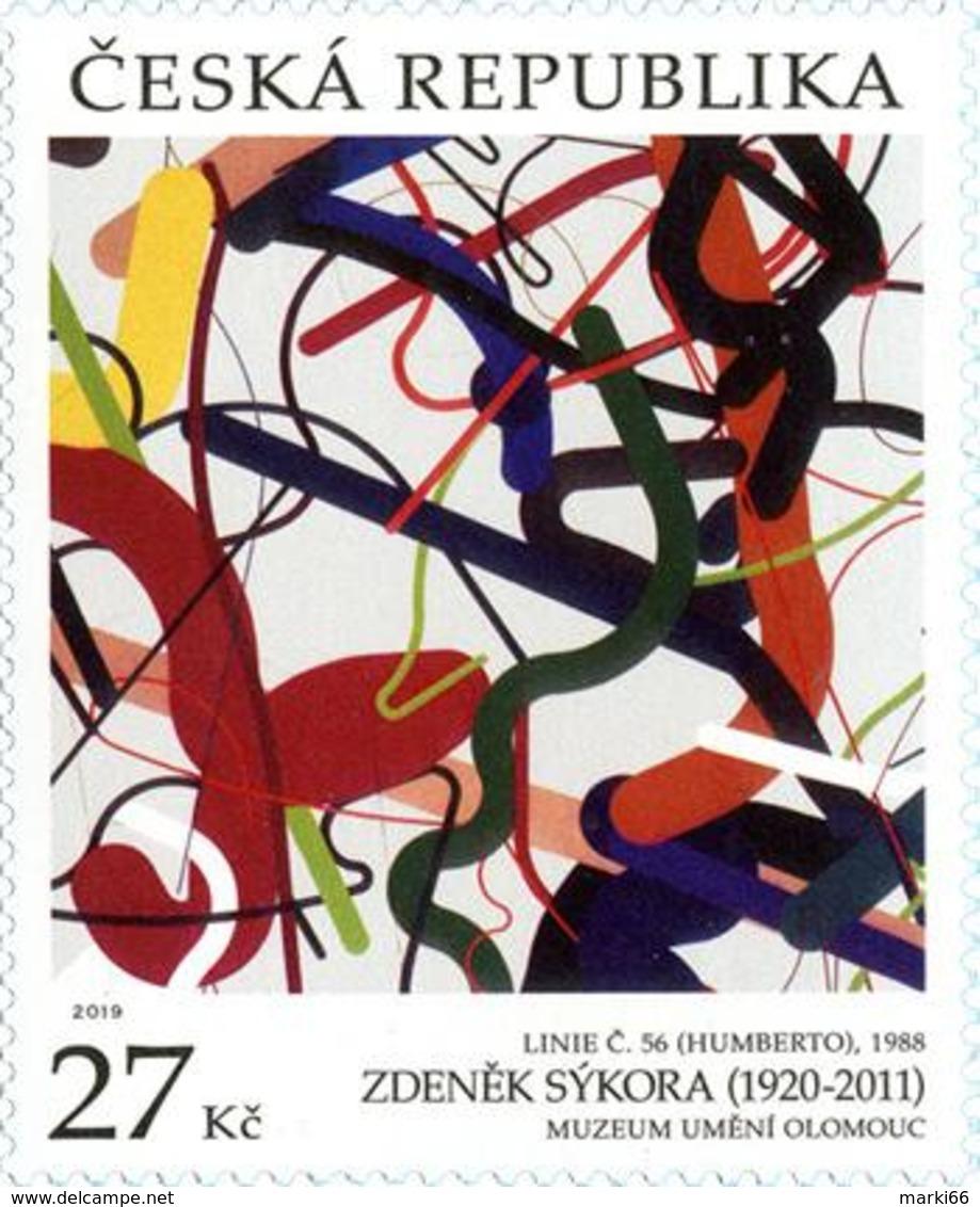 Czech Republic - 2019 - Art On Stamps - Zdeněk Sýkora - Mint Stamp - Czech Republic