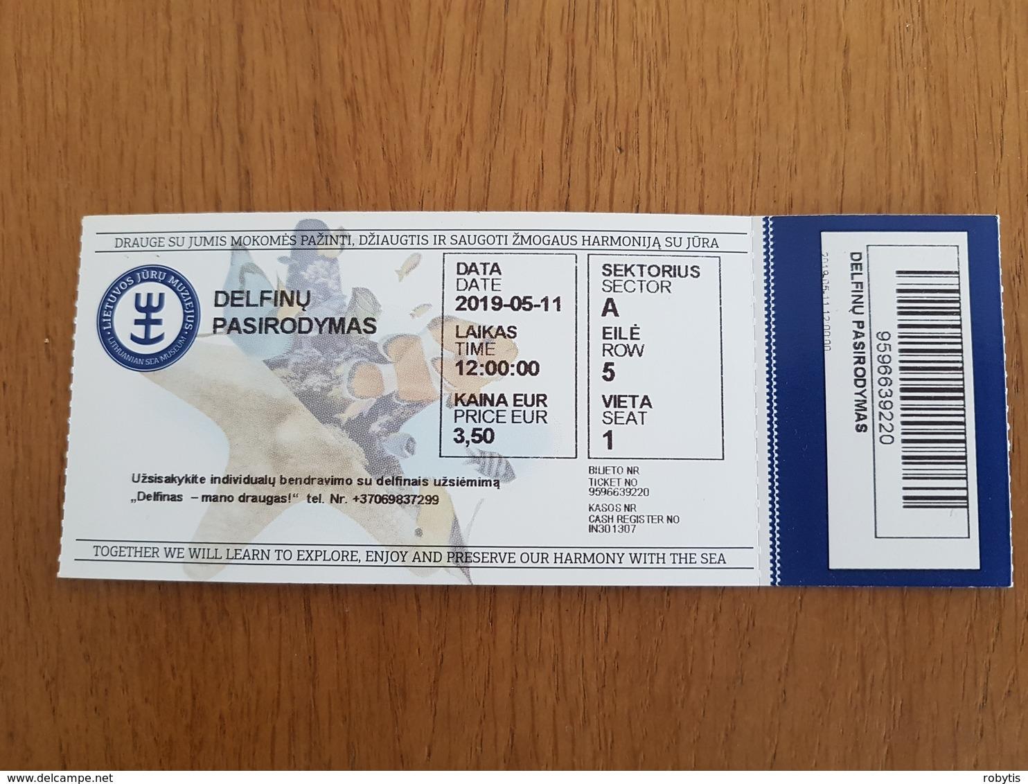 Ticket Lithuania Sea Museum City Klaipeda - Tickets - Entradas