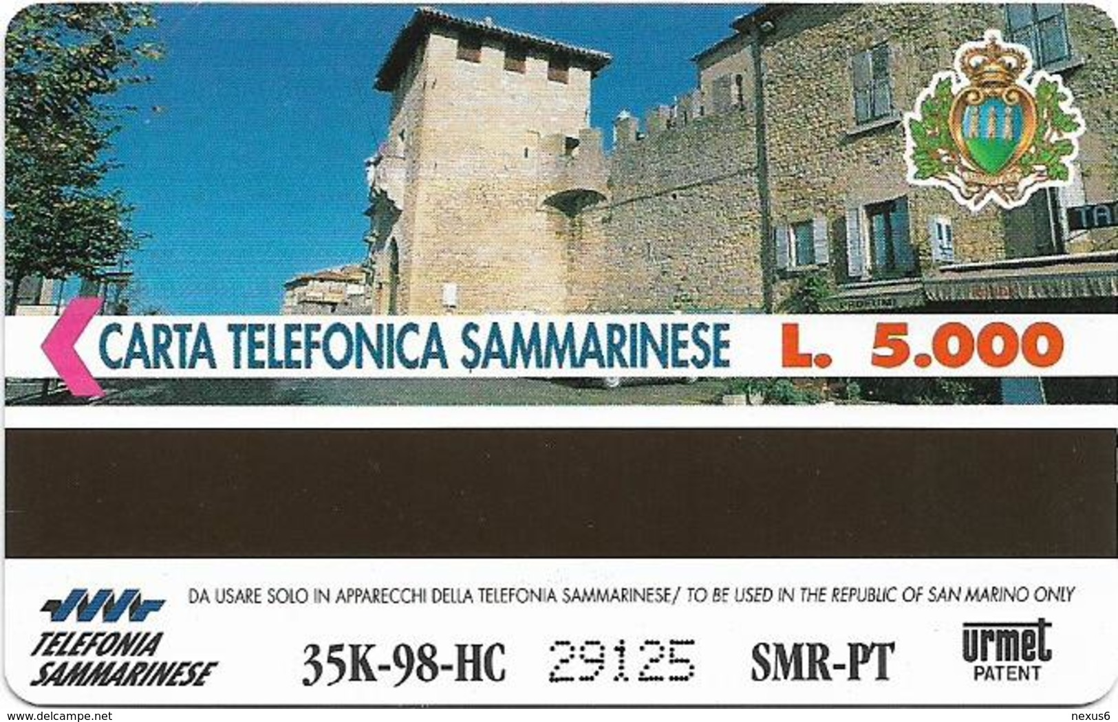 San Marino - Vergine Virgin Zodiac - 5.000L, 35.000ex, 03.1998, Mint - San Marino