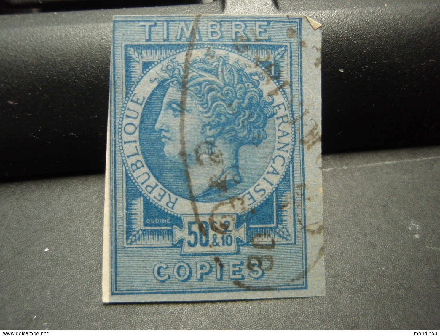 Timbre Copies 50c &2/10 1882 - Fiscaux