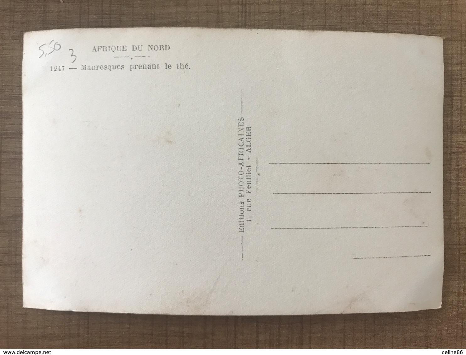 Mauresques Prenant Le Thé - Postcards