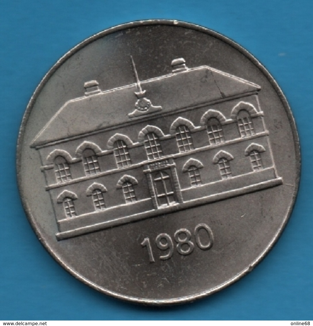 ISLAND 50 KRONUR 1980 KM# 19 - Islandia