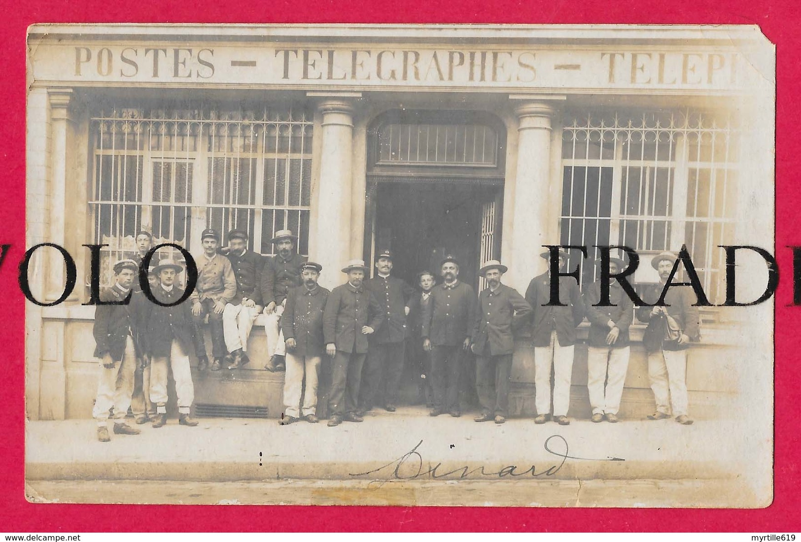 Dinard - Carte-Photo - Facteurs -  Postes - Télégraphes - Téléphones - 1909 - Argenteuil - - Dinard