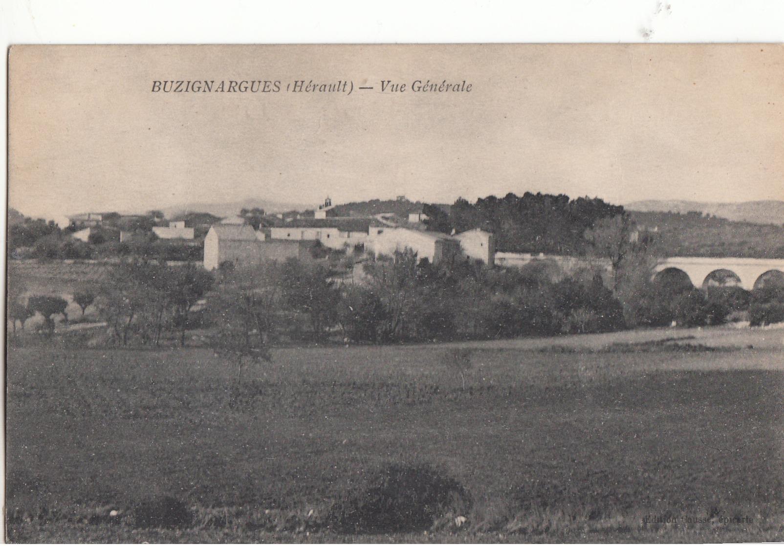 Buzignargues Vue Generale - France