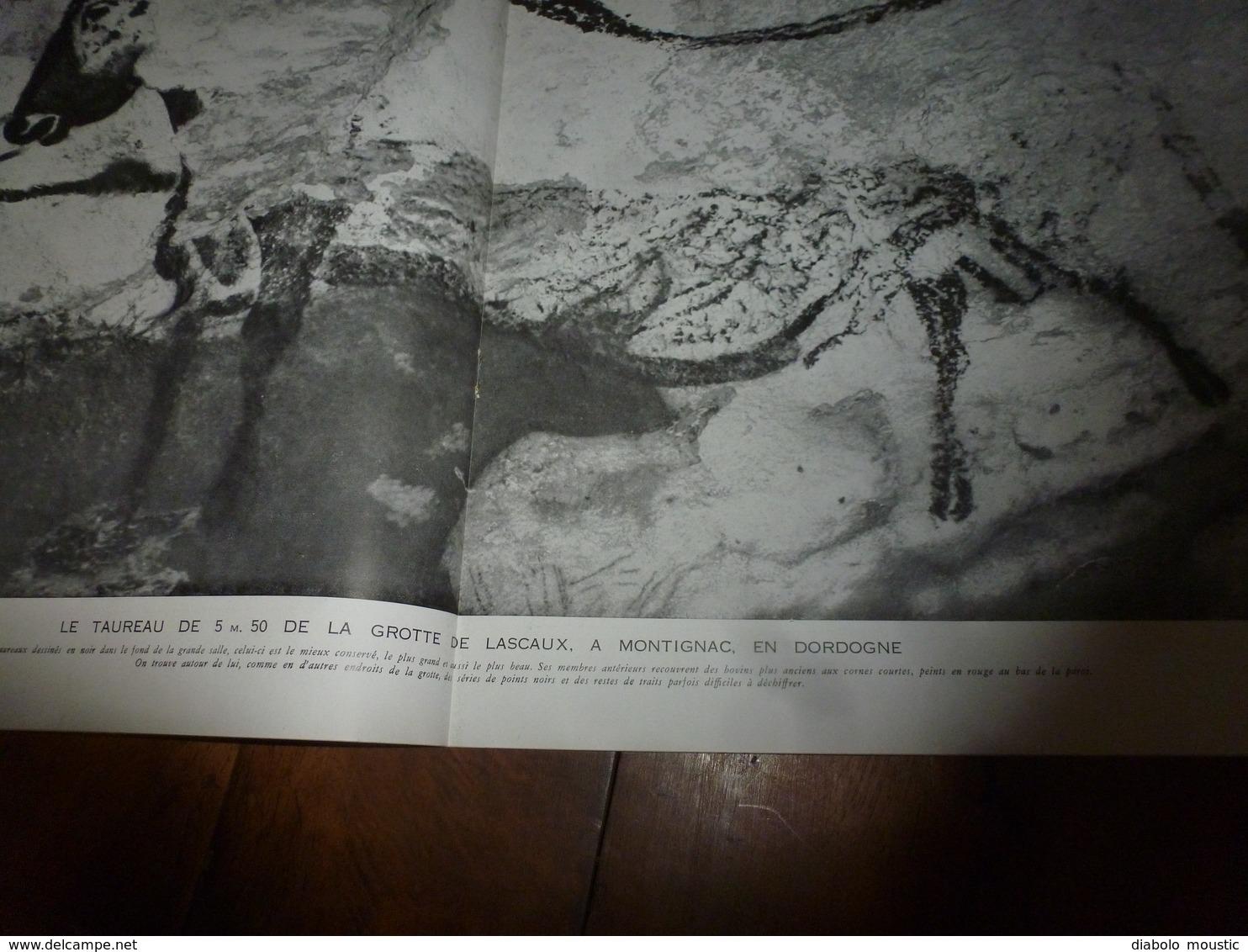 1941 L'ILLUSTRATION :Merveilleuse Grotte à Peinture De Montignac (Dordogne);Croisade Des Femmes Pour Les Prisonniers;etc - Journaux - Quotidiens