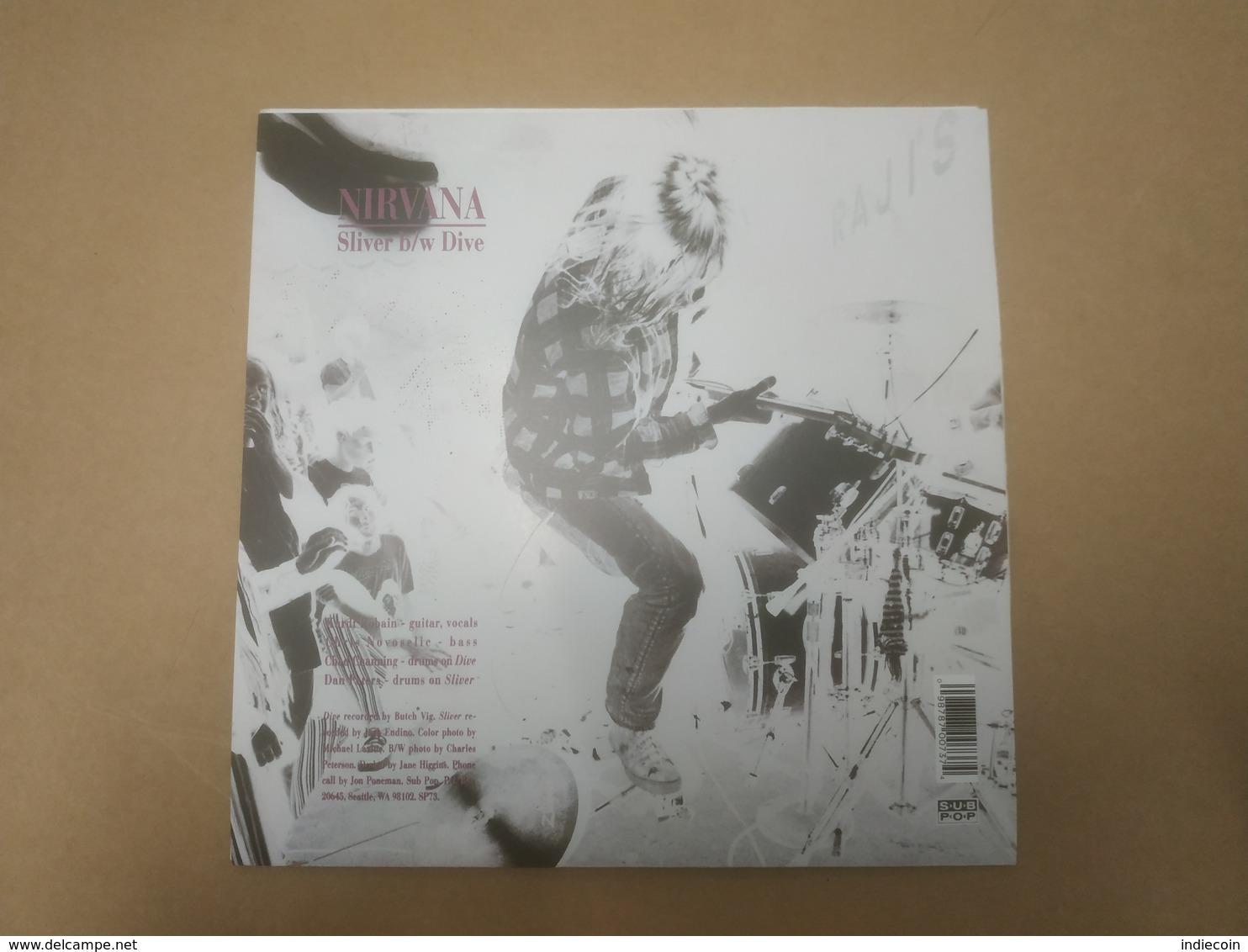 "45T NIRVANA Sliver 2010 US 7"" Single / BRAND NEW Unplayed / NEUF - Rock"